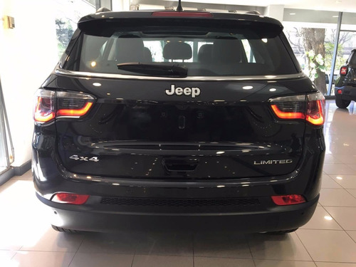 jeep compass limited plus awd 0km azul