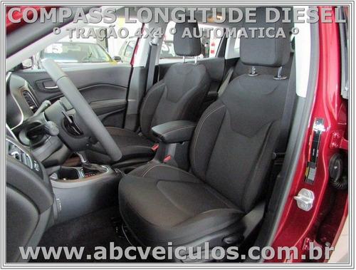 jeep compass longitude 2.0 4x4 - diesel - 2018 - okm  - 1114