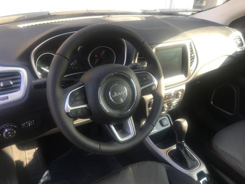 jeep compass longitude 2.4at6 0 km entrega inm. stock fisico
