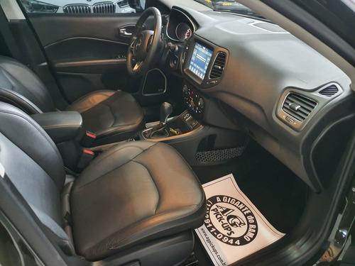 jeep compass longitude flex 2018 verde top teto couro 20km