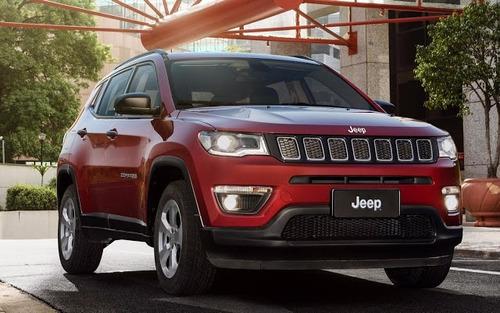 jeep compass sport 2.0 automático 2018 - cnpj - flex - 0 km