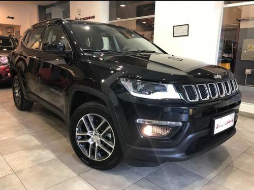 jeep compass sport at6 anticipo y cuotas