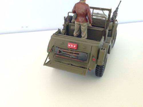 jeep dodge usa con general patton incluido 1/35 excelente