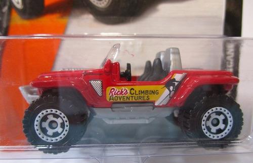 jeep escala 6cm largo de  coleccion matchbox 1/64