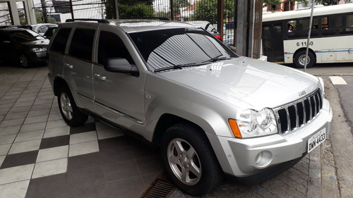 jeep gcherokee limited 2006 prata