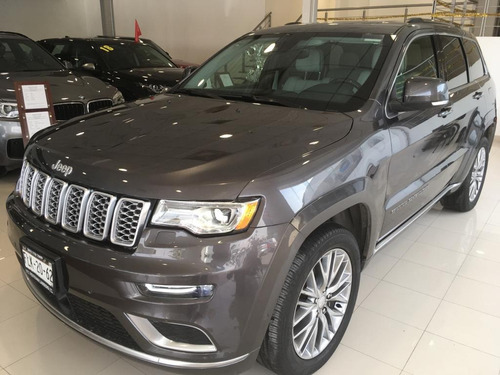 jeep gran cherokee summit 4x4 2017 gris