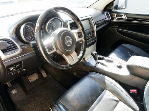 jeep grand cheokee overland 2012