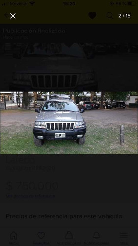 jeep grand cherokee 2001 4.0 laredo