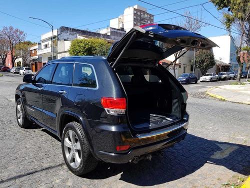 jeep grand cherokee 2013 3.6 overland at negra dueño vende