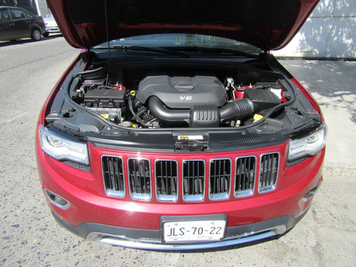 jeep grand cherokee 2015 limited lujo v6 4x2 at rojo