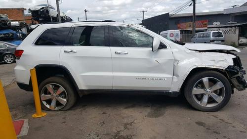 jeep grand cherokee 3.0 2014 sucata para peças