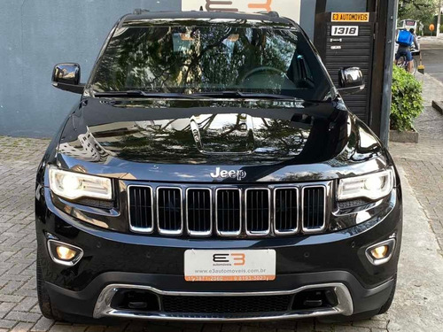 jeep grand cherokee 3.6 limited aut.  2014 / 2014  blindado