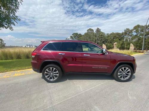 jeep grand cherokee 3.6 limited lujo 4x4 mt 2018