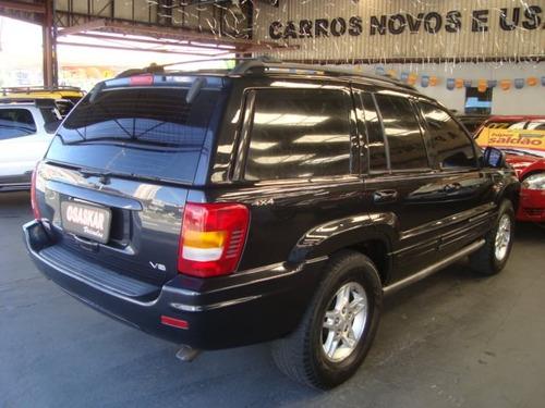 jeep grand cherokee 4.7 limited 4x4 v8 16v gasolina 4p