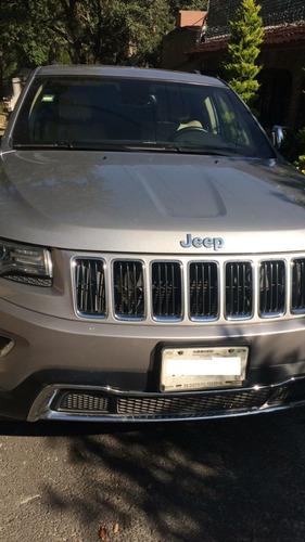 jeep grand cherokee 4x2 2014 blindada (3 plus) plata