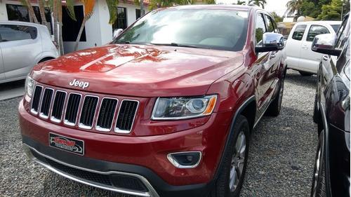 jeep grand cherokee 4x4  limited roja 2014