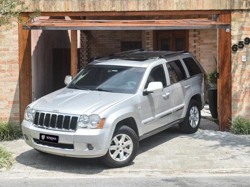 jeep grand cherokee 4x4 limited turbo diesel 2009 - blindada