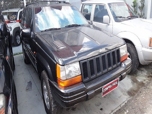 jeep grand cherokee 5.9 limit 4x4 v8 - 1998 - aceito troca