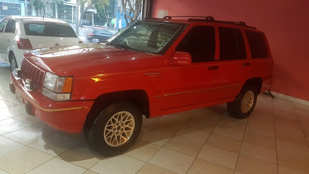 Jeep Grand Cherokee 5.9 Limited Lx 5p 1997. Carregando Zoom.