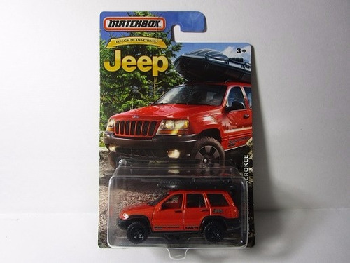 jeep grand cherokee coleccion matchbox escala miniatura