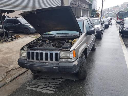 jeep grand cherokee lared 1998 (sucata somente peças)
