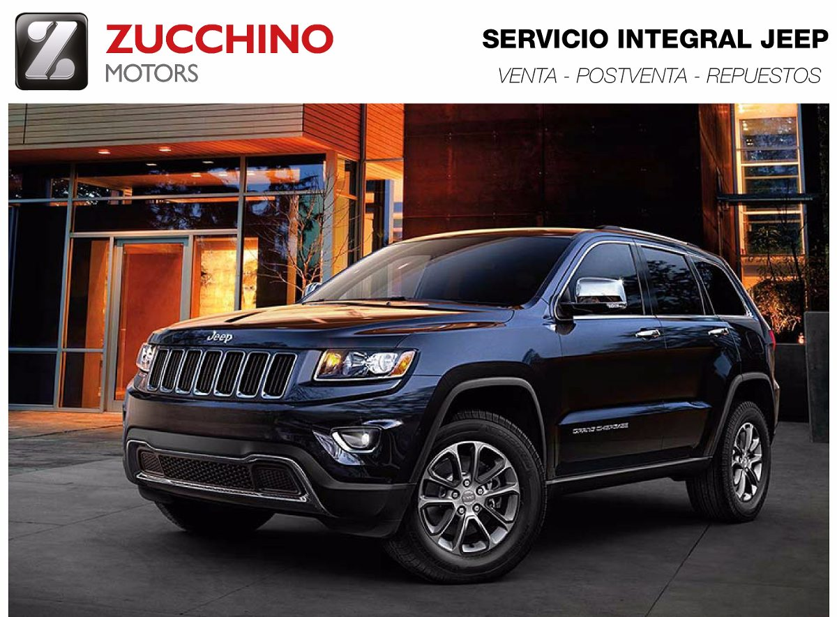 jeep grand cherokee limited 0km zucchino motors u s. Black Bedroom Furniture Sets. Home Design Ideas