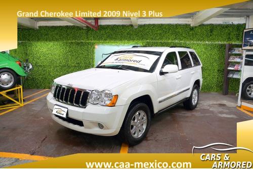 jeep grand cherokee limited 2009 blindada