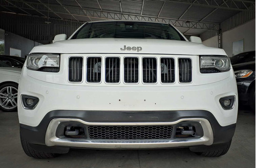 jeep grand cherokee limited 4x4 3.6. branco 2013/14