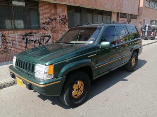 jeep grand cherokee limited 5.2l 1996