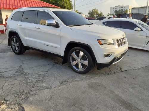 jeep grand cherokee limited diesel blanca 2014
