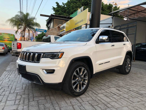 jeep grand cherokee limited lujo 2018 blanco automatica