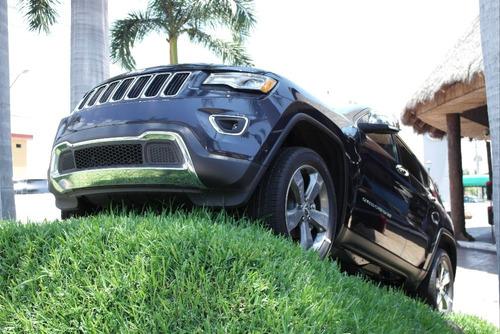 jeep grand cherokee limited lujo v6 q/c piel rin 20 gps 2016