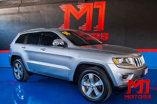 jeep grand cherokee limited premium 4x2 2014 plata $ 369,900