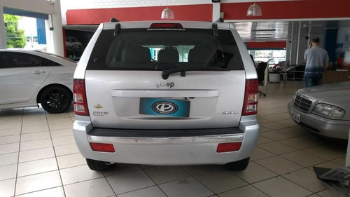 jeep grand cherokee ltd 4.7 2005 prata gasolina