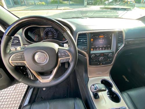 jeep grand cherokee overland 2014 78600 km service oficiales