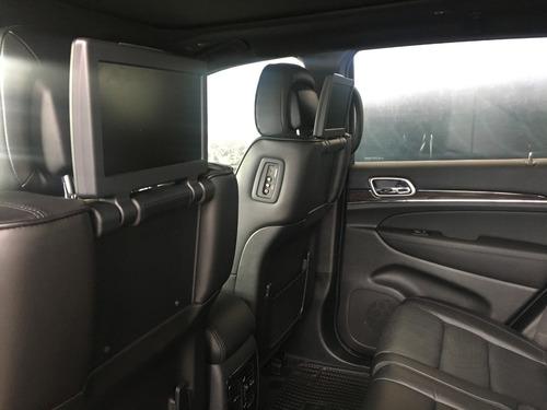 jeep grand cherokee overland 3.6l negra 5 puertas 2020