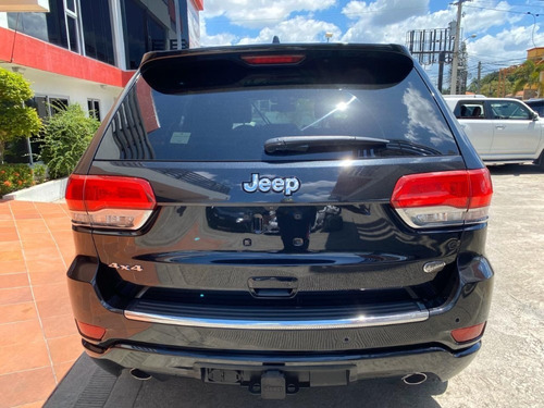 jeep grand cherokee overland negra 2014