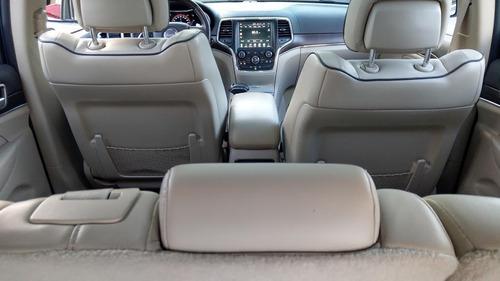 jeep grand cherokee overland negra 2015
