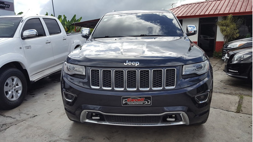jeep grand cherokee overland negro 2014