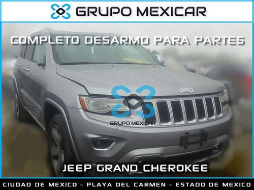 jeep grand cherokee partes desarmo autopartes cherokee 2015