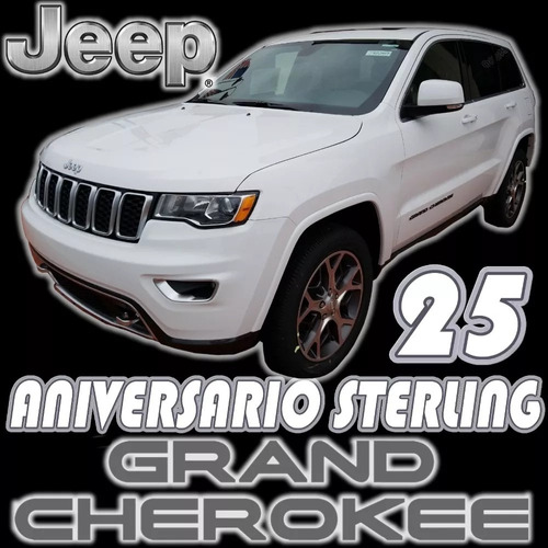 jeep grand cherokee sterling 25 aniversario v6 8 vel limited