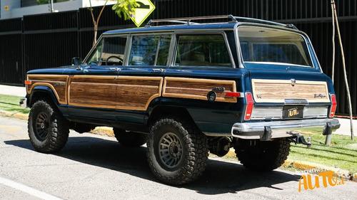 jeep grand wagoneer 4wd 1989