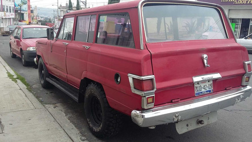 jeep grand wagoneer alpina standard 4 vel camioneta familiar