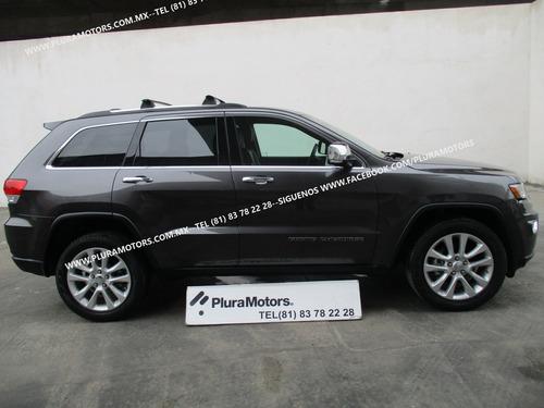 jeep grandcherokee limited 2017 automatica piel gps $499,000
