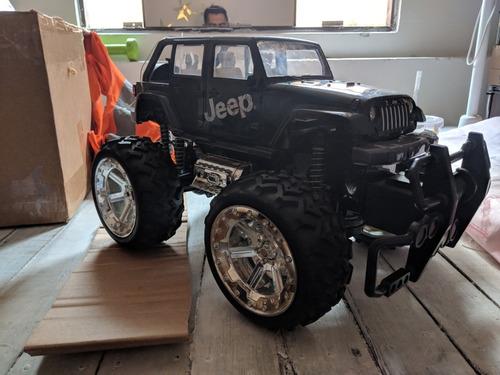 jeep grande a control renoto rc de 2 canales+bateria