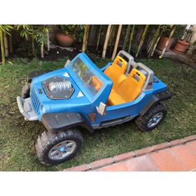 Jeep Hurricane Eléctrico, Hasta 59 Kilos, 2 Niños