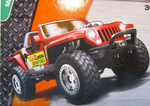 jeep hurricane escala coleccion matchbox r52b