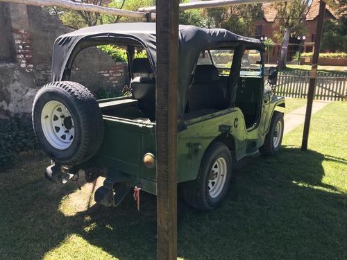 jeep ika  4x4 alta y baja original en villa gesell