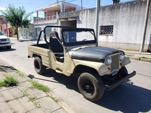 jeep ika 4x4 chevrolet 6cil permuto