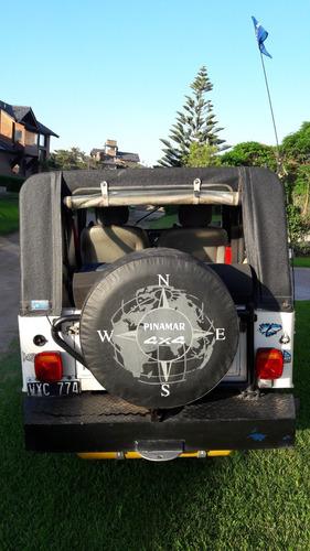 jeep ika 4x4 motor nuevo 221 c/gnc